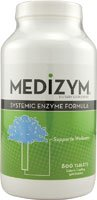 Naturally Vitamins Medizym Systemic Enzyme Formula -- 800 Enteric Coated Tablets by Naturally Vitamins