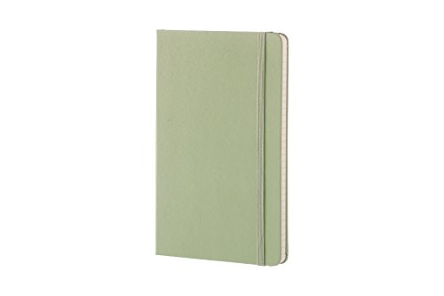 Moleskine Classic Notebook, Large, Ruled, Willow Green, Hard Cover (5 x 8.25) by Moleskine (Image #1)