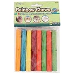 "WARE BIRD/SM AN 089517 8 Piece Assorted 6.75"" Rainbow Chews Rolls"