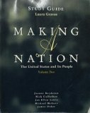 img - for Making a Nation: Study Guide Volume 2 book / textbook / text book