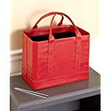 Elegant, Stylish ,Convenient File Hanging Folder Organizer (Red) by CT Discount Store