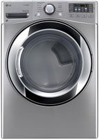 LG DLGX3371V 7.4 Cu. Ft. Graphite Steel Stackable With Steam Cycle Gas Dryer - Energy Star