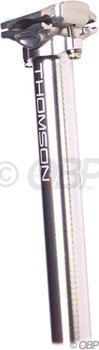 Thomson Bike Products Elite 25.4 x 330mm Silver Seat post