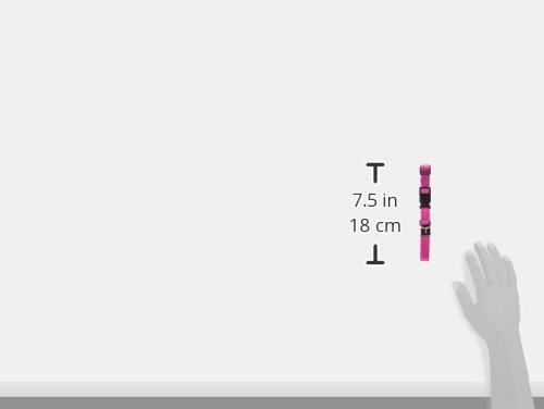Rogz Utility Medium 5/8-Inch Reflective Stitching Snake Dog Collar
