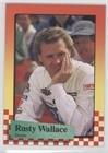 (Rusty Wallace (Trading Card) 1989 Maxx Racing #27)