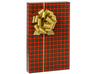 Holiday Tartan PLAID Christmas Gift Wrap Wrapping Paper - 16ft Roll