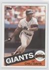 Chili Davis (Baseball Card) 1985 Topps - [Base] #245