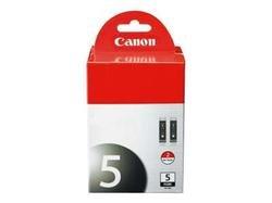 Free CANON USA CANON PGI-5 Black Twin Pack