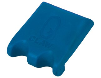 (Q Claw 2 Pool Cue Holders Color: Blue)