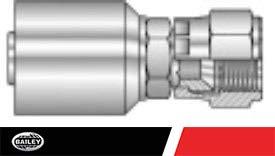 472142 9//16-18 Thread Hydraulic Crimp Hose Fittings SAE 37/° JIC Female - Swivel - GJ05-06-06: 3//8 Inner Diameter