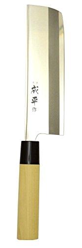 FUJI CUTLERY Narihira #9000 Nakiri Knife [Double-edged] 16cm (FC-80)