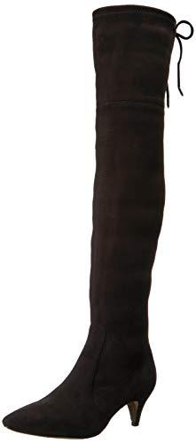 Sam Edelman Women's Kristie Over The Over The Knee Boot, Black, 11 M US (Sam Edelman Kent Over The Knee Boots)