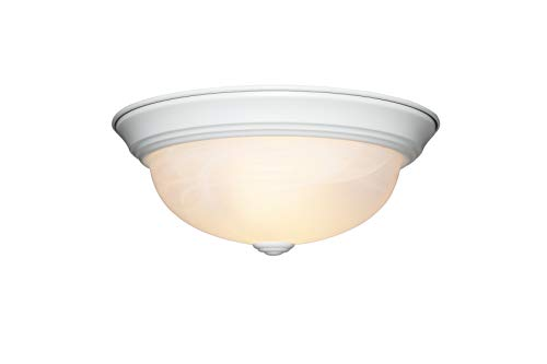 - Designers Fountain 1257S-WH-AL Value Collection Ceiling Lights, White