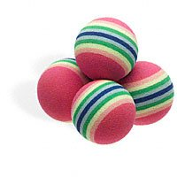 Vo Cat Rainbow Ball 4Pk, My Pet Supplies