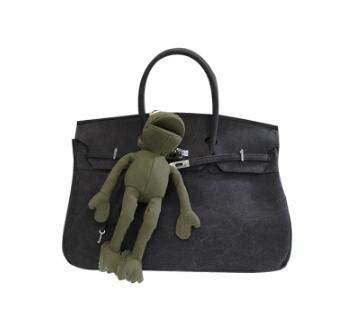 9ef288cc6a Bloomerang Canvas Military Navy Green Lock Platinum Tote bag Portable  Graffiti Diy Messenger Bag Frog Ladies