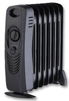 Pike y Co, electrónica 700 W MINI radiador de aceite negro [pe0964]