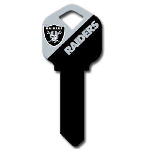 Kwikset Nfl Key - Oakland Raiders