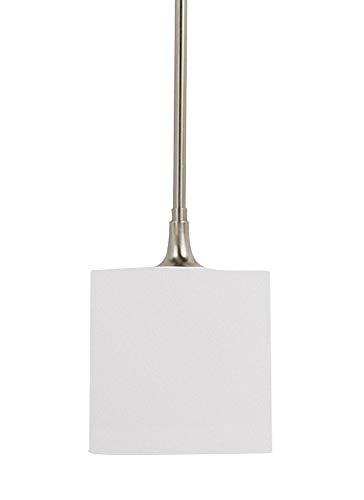 Sea Gull Lighting 61952EN3-962 One Light Mini-Pendant, Brushed ()