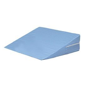 Duro-Med Foam Bed Wedge, 12'' x 24'' x 24'' Blue Cover by Duro-Med