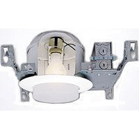 Halo H27T, 6'' Housing Shallow Ceiling Non-IC 120V Line Voltage, 6 Pack by Halo Recessed