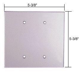 Cut Acrylic Mirror (C.R. LAURENCE PMP208 CRL Clear Double Blank Acrylic Mirror)