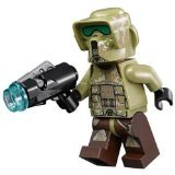 Star Wars Lego Minifigure 41st Elite Corps Trooper with Blaster (Star Wars 41st Elite Corps Clone Trooper)
