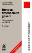 Bundesdatenschutzgesetz: Basiskommentar zum BDSG (Basiskommentare)