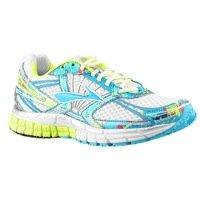 Brooks Adrenaline GTS 14 Womens Running Shoe White Blue Jewell 7
