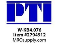 PTI W-KB4.076 WINKEL TAPPED COMB BEARING W1-WINKEL BEARINGS & RAIL