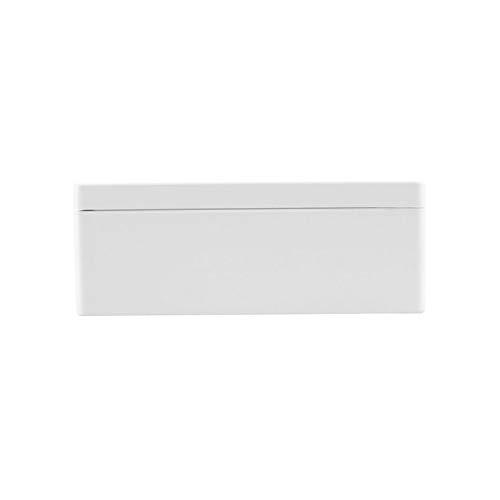 Bo/îtier de jonction /électronique IP66 /étanche en plastique pour circuit imprim/é avec transparent 200 x 120 x 75 mm Blanc
