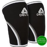 Knee Sleeves (Pair) (Black, X-Large)