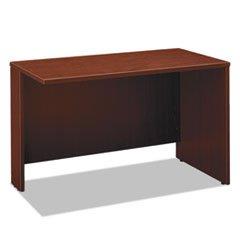 Wholesale CASE of 2 - Bush Series C Collection Mahog. Lam Desk Ensemble-Return Bridge, 47-3/4''x23-3/8''x29-7/8'', Mahogany