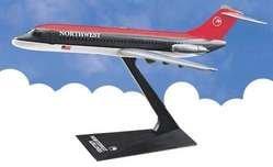 Flight Miniatures Northwest Airlines NWA 1989 Douglas DC 9 30 1/200 Scale Display Model
