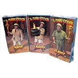 - Polar Lights Three Stooges Complete Set Moe, Larry, Curly Model Kits New