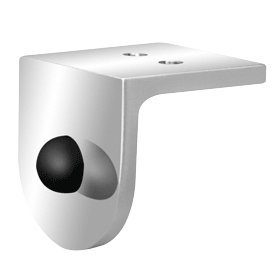 aguna Series Ceiling Mounted Door Stop Fitting (Stainless Finish Header)