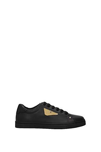 Cuir Sneakers Noir Eu Fendi Femme 8e6789a3h2 v0xCHA