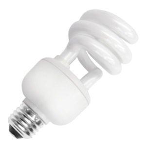 (TCP 1822041K CFL Spring Lamp - 75 Watt Equivalent (only 20W used!) Bright White (4100K) HPF Spiral Light Bulb)