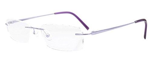 Eyekepper Rimless Titanium Optical Eyeglasses Frame Half-eye - Frames Titanium Eyeglasses Womens