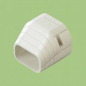 10個セット 配管化粧カバー 端末カバー 70タイプ ブラウン KTC-70-BR_set