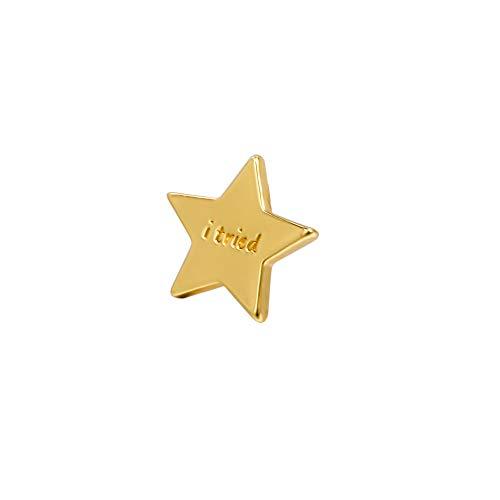 I tried Gold Star Earrings
