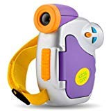 Powpro Kids Camera, Pro DVC-7CAM Kids Digital Video Camera with Ergonomic Design, Purple