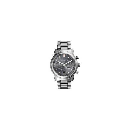 134b4e12c10cf Michael Kors Pennant Chronograph Grey Dial Gunmetal Ion-plated Mens Watch  MK8369