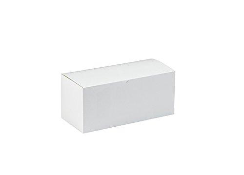 BridalSource - Cajas para tartas (15 x 7 cm), color blanco, Blanco, 50 Cake Boxes, 1