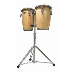 (Latin Percussion LP-JRX-AW Conga Drum Natural / Chrome)