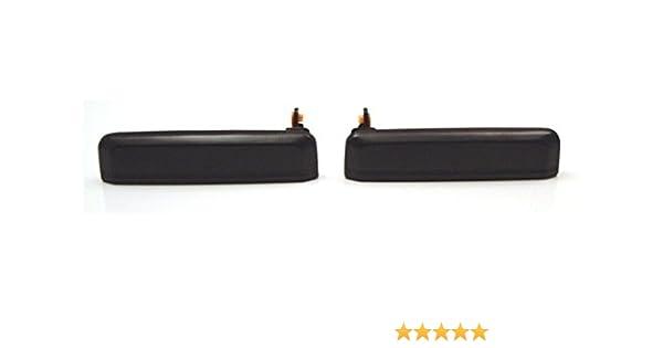 2PCS Door Handles Black Exterior Outside Outer Front Pair Set For 95-99 Avalon