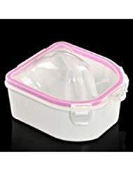 IDS Nail Spa Bowl, Professional Acetone Resistant Soak Off Warm Nail Soak Bowl Manicure Tool