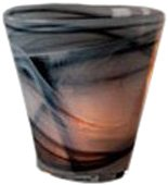 Shiraleah Grey Polished Alabaster Votive Holder 08-90-001GRY