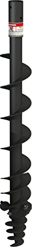 "RanchEx 100499 6"" Heavy Duty Auger, 6""/Small, Black"