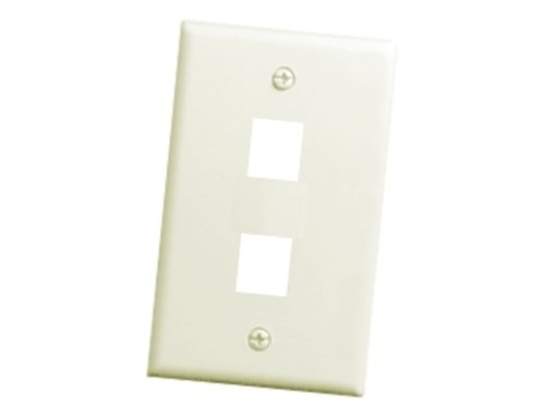 On-Q F3402LAV5 2Port Wall Plate, Light Almond, 5Pack - Electrical Distribution Wall Plates - Amazon.com