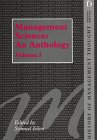 Management Science : An Anthology, , 1855215160